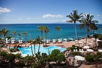 Playa de las Americas, Tenerife island, Canary archipelago, Spain, Europe.