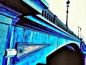 Battersea Bridge, designed by Joseph Bazalgette and opened in 1890, London, England
