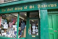 Golf Shop of St Andrews; Fife; Scotland; UK.