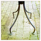 Table legs outdoor.