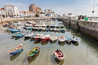 Castro Urdiales village in Cantabria, Spain.