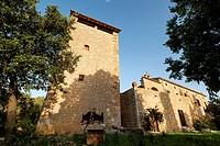 Defensive tower,possessió Son Mas - Pla del Rei, Mallorca, balearic islands, spain, europe.