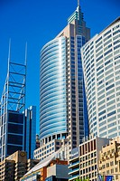 Sydney corporate high rise along Macquarie Street.