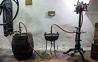 Old beer filter machine in Brewery Museum in Plzen (Pilsen) city, Czech Republic.