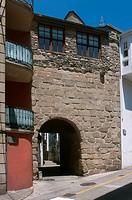 Puerta de la Villa (year 1217), Viveiro, Lugo province, Region of Galicia, Spain, Europe.
