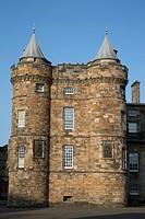 Palace of Holyroodhouse; Holyrood; Edinburgh; Scotland.