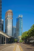 Brickell Avenue Buildings. Miami. Florida. USA.