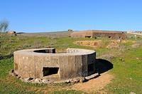 Bunker from Civil War.Casas de Don Pedro.Badajoz province.Extremadura.Spain