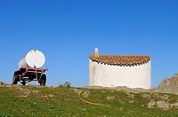 Traditional architecture.Casas de Don Pedro.Badajoz province.Extremadura.Spain