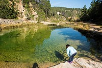 Charcos de Quesa. Río Grande. Canal de Navarrés. Valencian Community, Spain
