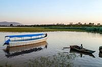 Boat Transport, Lake Ziway, Ethiopia.