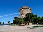 White tower, Thessaloniki, Greece.
