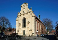 D-Muenster, Westphalia, Muensterland, North Rhine-Westphalia, NRW, Observants Church, former monastery church of the Franciscan Observants, nowadays E...