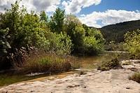 Algars river gorge in Spain.