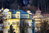 Marianske Lazne resort - Marienbad, Karlovy Vary Region, West Bohemia, Czech Republic, Europe