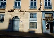 Traditional old Herboristerie (pharmacy), Place St Jean in Vieux-Lyon, the city's oldest district, Lyon, Auvergne-Rhone-Alpes, France, Europe.