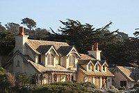 A home on 17-Mile Drive, Monterey Peninsula, California, United States.