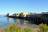 Fisherman's Wharf, Monterey, California, United States.