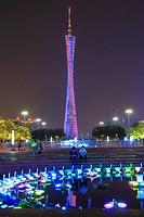Canton Tower, Guangzhou, China.