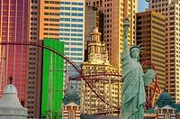 new york, new york, hotel, las vegas, nevada, usa.