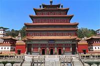 Punin temple (1755), Chengde, China.