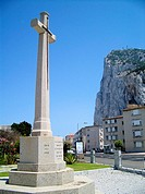 Gibraltar (United Kingdom). Monument to all fallen by the British Empire.