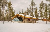 Kakslauttanen Hotel, Lapland, Finland.