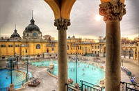The Széchenyi Thermal Bath is one of the largest spa complexes in Europe. It's also the first thermal bath of Pest. It owes its existence to Vilmos Z...