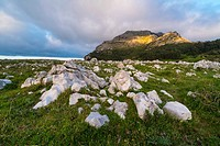 Mount Candina (489 m) - Monte Candina, Liendo Valley, Cantabria, Spain, Europe.