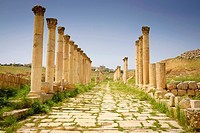 Jordan. Jarash. Jarash Archeological Site
