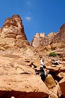 Jordan. Aqaba. Wadi Rum. Lawrence's Spring