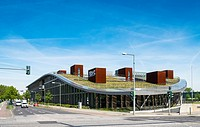 Atos Building at Adlershof Science and Technology Park Park in Berlin, Germany.