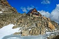 Cabane d'Orny, Champex-Lac, Valais. Switzerland.