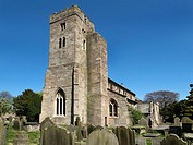 All Saints Church at Ripley North Yorkshire England.