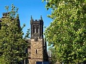 St Pauls United Reformed Church in Spring Harrogate North Yorkshire England.