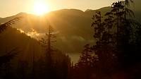 Tiupana inlet. Nootka Sound. Vancouver island. British Columbia. Canada.