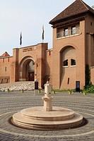 Hungary, Esztergom, Royal Castle,.