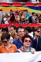 Paris Gay Pride 2017, 24 th june, France.
