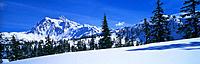 Mount Shuksan. Mount Baker-Snoqualmie National Forest. Washington. USA