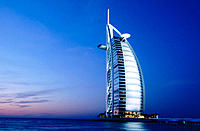 Burj Al Arab hotel. Dubai. UAE (United Arab Emirates)