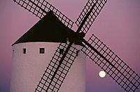 Windmill. Campo de Criptana. Ciudad Real province. Spain