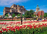 Kungsträdgården park. Stockholm. Sweden
