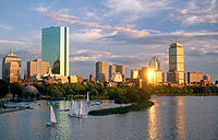 Back Bay. Boston. Massachusetts. USA