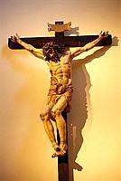 Crucifixion, sculpture by Juan de Juni (1550s)