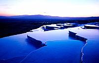 Thermal springs. Pamukkale. Turkey