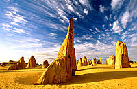 The Pinnacles. Nambung National Park. Western Australia