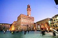 Palazzo Vecchio at Piazza della Signoria. Florence. Italy