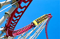 Las Vegas rollercoaster