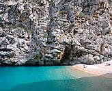 Sa Calobra beach, Torrent de Pareis. Majorca. Balearic Islands. Spain