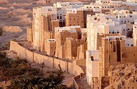 Shibam (Hadramaut). Republic of Yemen